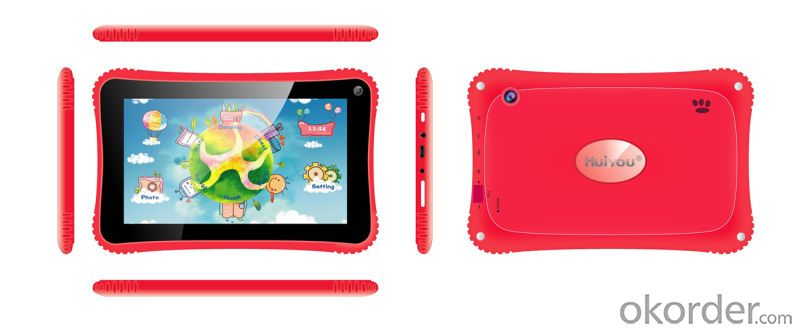 New Arrival 7 Inch Rockchip 3026 Dual Core Children Kid Tablet PC with Good Quality
