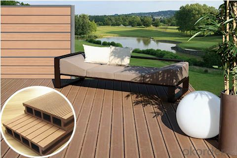 China waterproof composite wpc decking