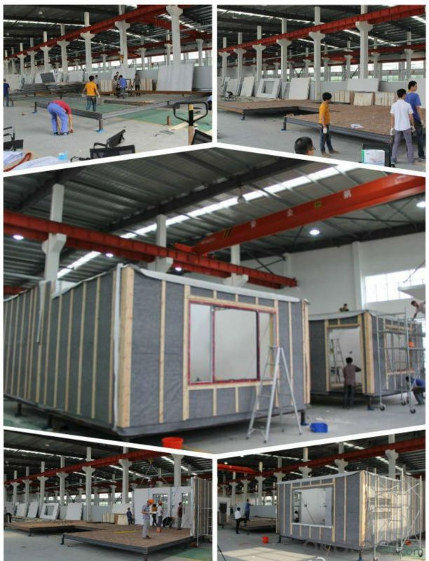 90 Square Meter Prefabricated House Low-Carbon House environmental friendly house