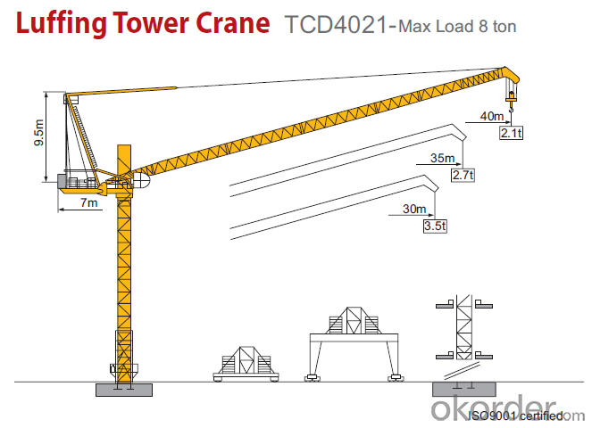Tower Crane Building New Cranes for Sale