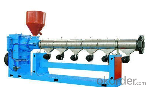 twin screw extruder machine/ rubber extruder