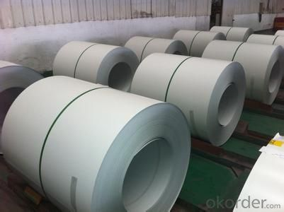 Pre-painted Galvanized/Aluzinc Steel Sheet Coil with Prime Quality , White Color