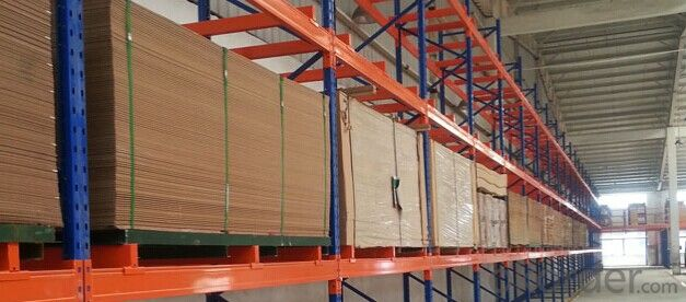 Buy Beam Type Pallet Racking System For Warehouse Price