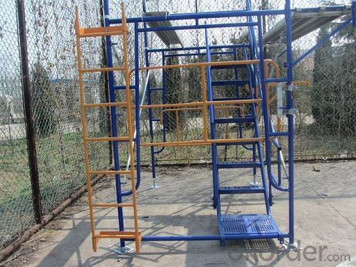 Walk Through Frames Scaffold System for construction
