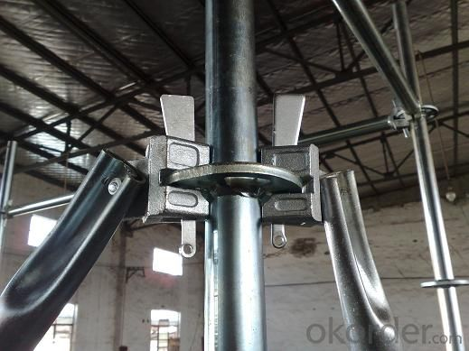 Ringlock Brace Q235/345 Steel Galvanized