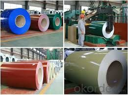 Cold Rolled Galvanized Steel with Color Prepainted