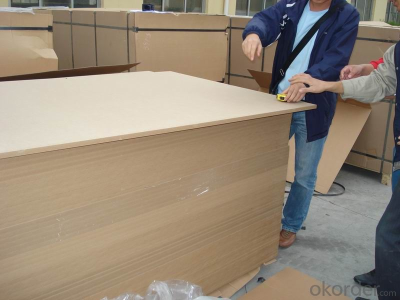 Plain, Melamine or Veneered Faced mdf from China