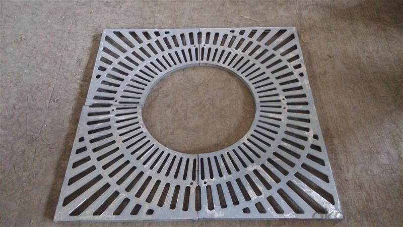 Ductile Casting Iron Manhole Covers D400, SD85S63/02 recess