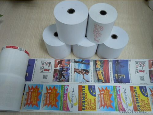 Thermal Paper Roll for ATM POS, OEM, High Quality