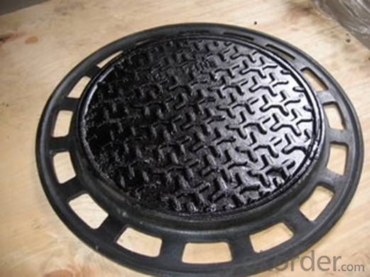 manhole cover ductile iron casting sand casting cast iron foundry