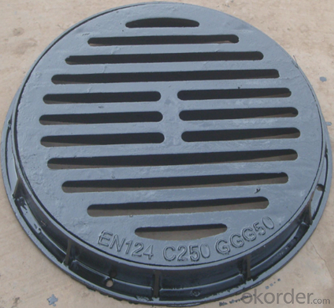 Manhole Cover  Ductile Iron EN124 from China