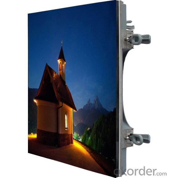Castaluminium Thin Light Led Display (Just 25KG/cabinet) P10