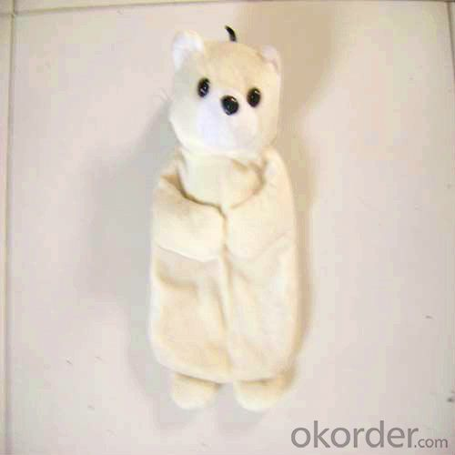 Kid Hot Water Bottle with Cover 2000ml 2 Side Rip
