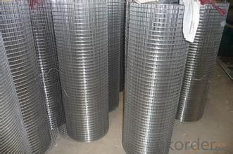 Galvanized Welded Wire Mesh for Fench Protection Cover wigh High Quality