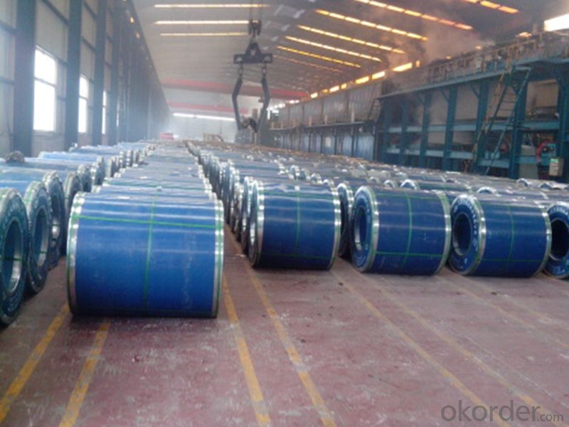 Color Coated Steel Coils Pre-painted Aluzinc Steel Coils/ Sheets /PPGI