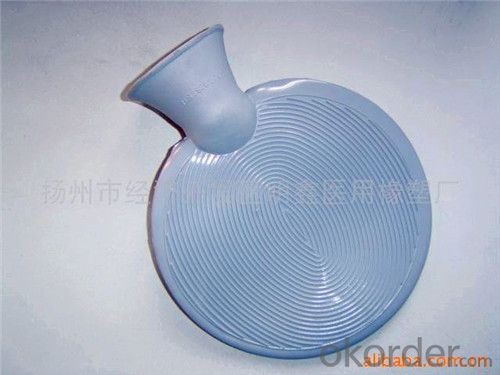 Round Shape Hot Water Bag 1000ml with 2 Side Rip