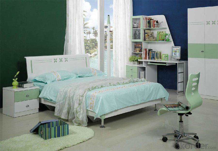 Children Bed,Solid Wood Bed the Bed with Drawer