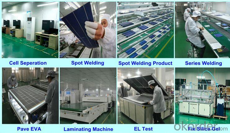 Monocrystalline Silicon Solar Modules 100Watt