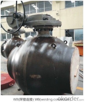High-performace pipeline ball valve PN 900 Class