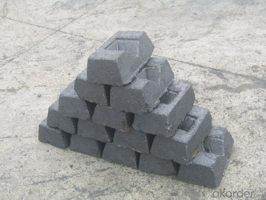 Iron Alloy Application Carbon Electrode Paste Block