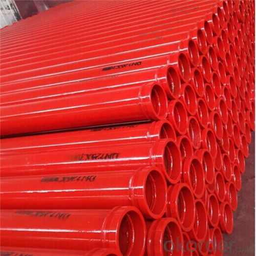 3M Seamless Delivery Pipe for Concrete Pump Thickness 5.0mm