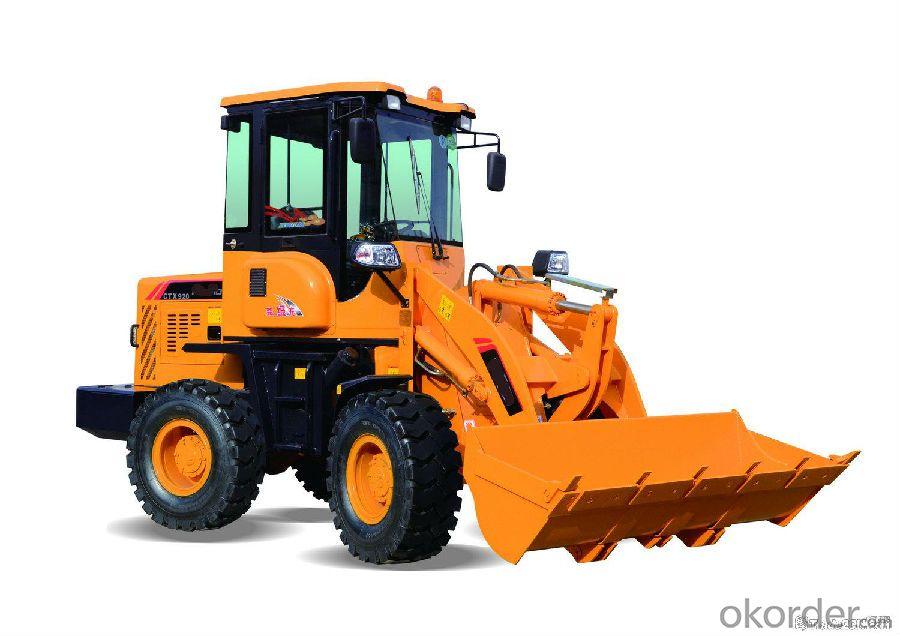 construction machine Haihong CTX930 wheel loader, cheap wheel loader