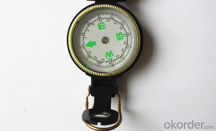 Metal Army or Military Compass for Hiking