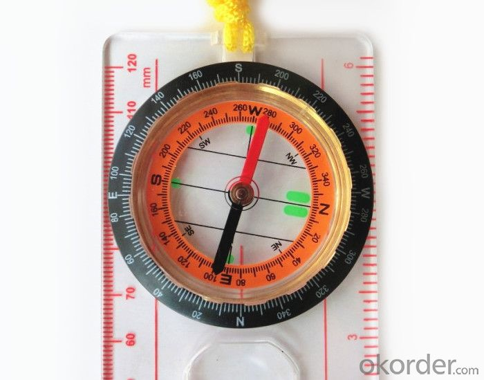 Professional Map Scale Compass with Ruler