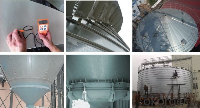 Good sealing oil silo,wine steel silo