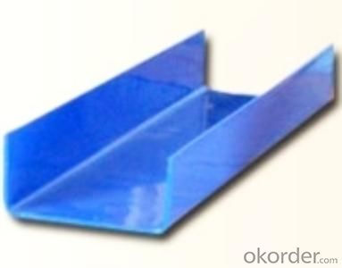 U Section Shaped Steel with Good Quality