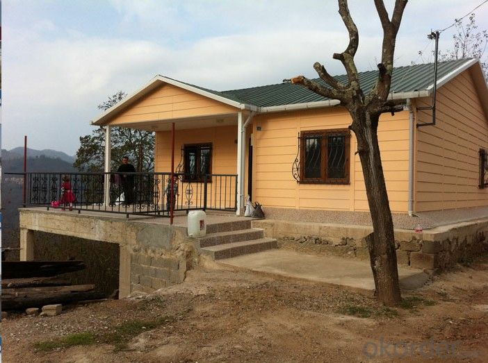 Light Steel Construction Prefabricated House from China