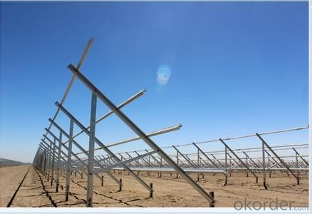 Steel Strut , Solar rack, PV Mounting  Structure