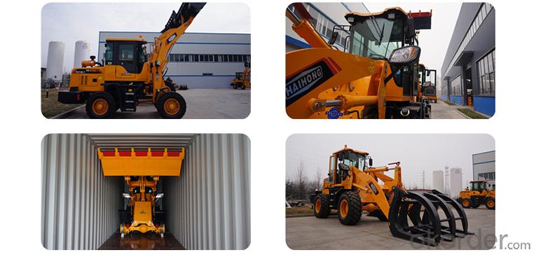 top quality CTX950 wheel loader, mini wheel loader