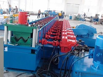 High Way Guard Rail Cold Roll Forming Machine