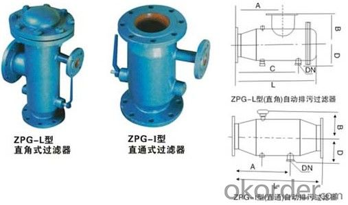 Cast Iron / Ductile Iron Strainer Flange end with China Manufacturer