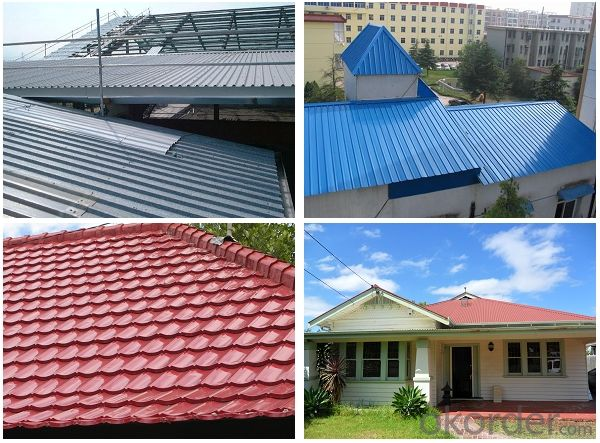Pre-painted rolled Steel Coil for Construction Roofing constrution