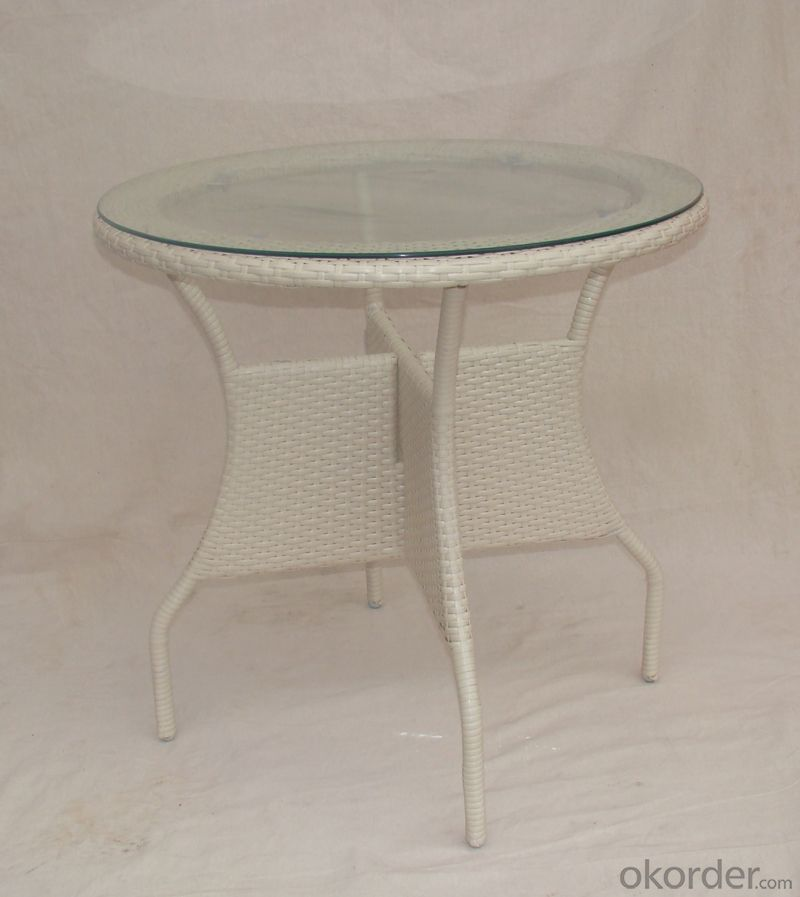 Outdoor Rattan Single Table with Chair for Garden CMAX-SC009