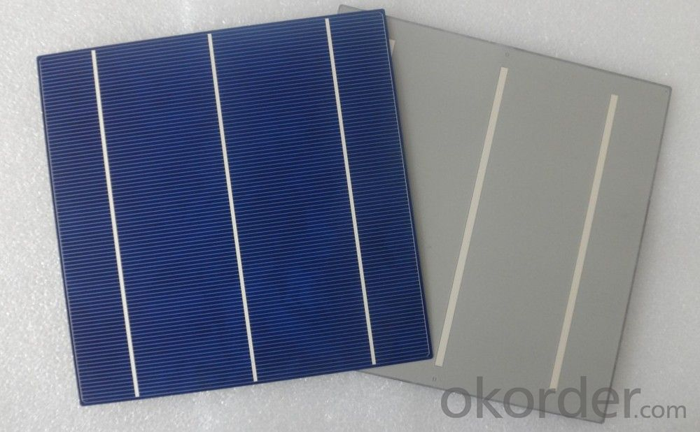 156x156mm poly solar cell,pv solar cell supplier high efficiency cheap photovoltaic solar cell price