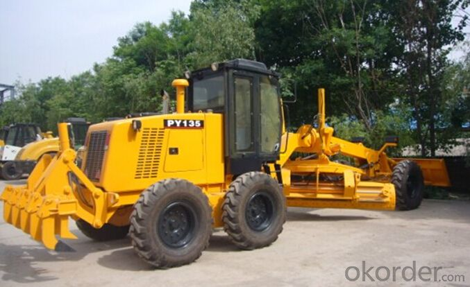 11 Ton Motor Grader of PY135 with Accessories
