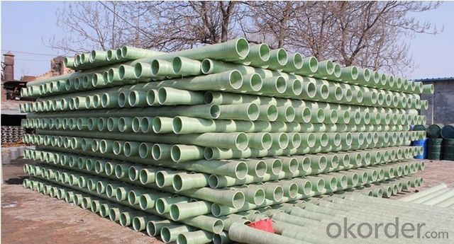 FRP Enwinding Fiber Glass Pipe,fiberglas Shollows Pipe Made in China