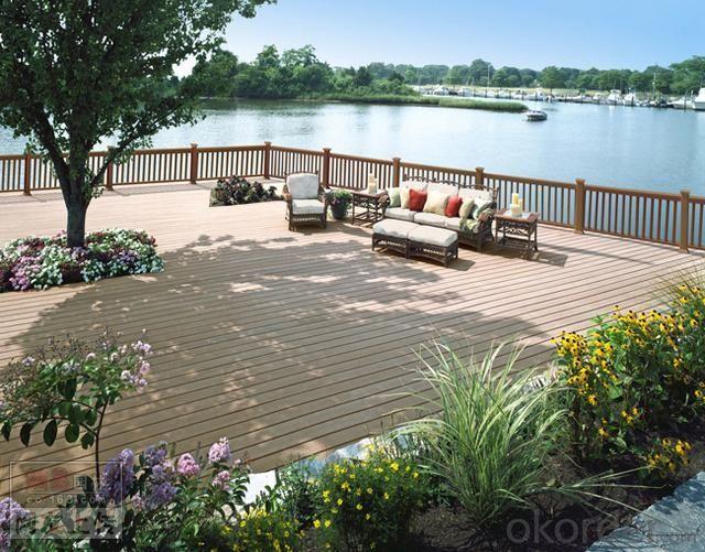 /WPC decking / garden composite deck wpc