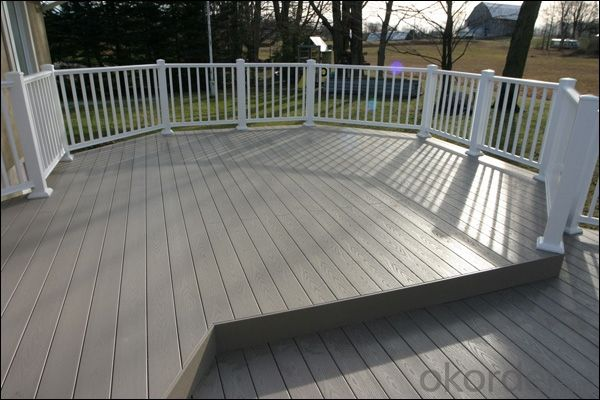 wpc outside decks/2015 Best Selling WPC Decking/Wood Plastic Composite