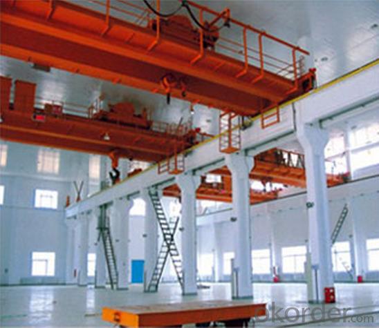 (5+5) - (25+25) T Suspension Beam Overhead Crane (vertical main beam)