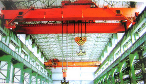 Qd (5+5) T- (16+16) T Low Level Slewing Overhead Crane with Carrier-Beam