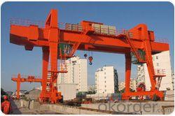 China profesional double girder gantry crane manufacturer
