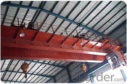 Double trolley double beam overhead crane Factory in China