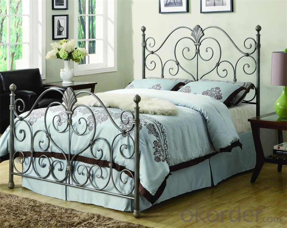 Metal Single Bed with Modern design Hot Sale MB306