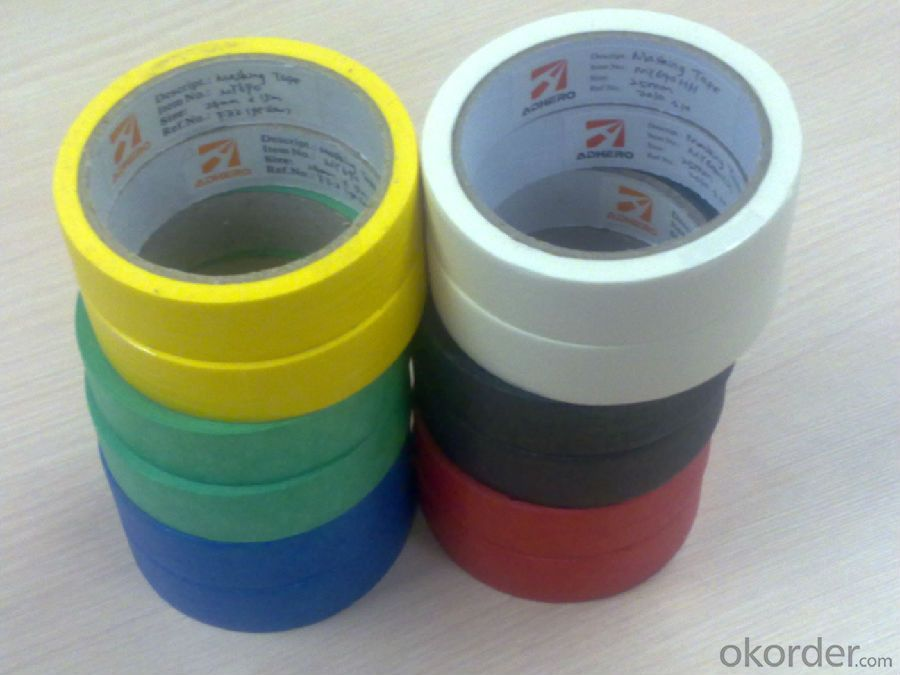 Masking Tape with Tower Package in Different Colors