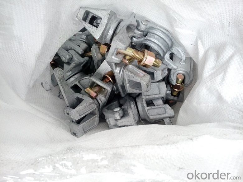 Scaffolding Coupler  Steel Galvanized Forged  Swivel Coupler with Casting Steel Wedge Head