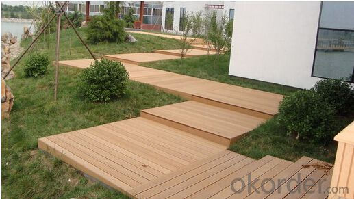 Wooden floor tiles with CE passed from China